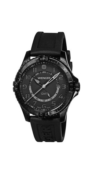 Wenger Squadron GMT (77074) Blackout